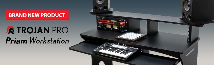 Trojan Pro unveil the Priam Studio Workstation