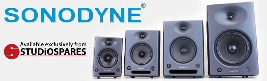 The Sonodyne SRP Monitor Range available exclusively from Studiospares