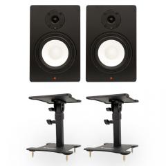 Studiospares SN6A Pair + Desktop Monitor Stands