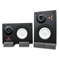 Studiospares SN10 MkII Studio Monitors pair + Monitor Pads
