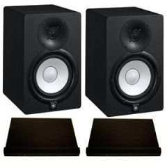 Yamaha HS8 Studio Monitors Isolation Bundle