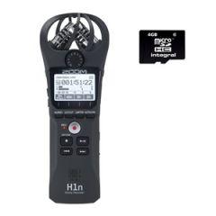 Zoom H1n Recorder + 16GB microSDHC Card