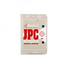 Radial JPC Stereo Balancing Active DI Box