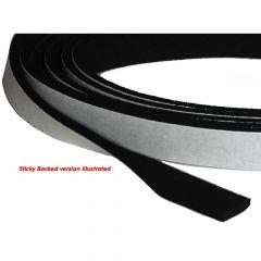 Neoprene Strip Non-Sticky Back 13 x 3mm (per m)