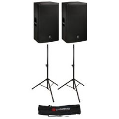 Electro-Voice ELX115P Active Pair & Free Covers + Stands + Stand Bag