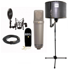 Rode NT1A + RED50 + Mic Stand (No Boom)