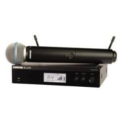 Shure BLX24R/B58 Beta 58A Rack Vocal System Channel 38