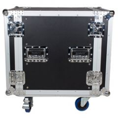 Trojan RC12U - 12U Flight Case with Wheels