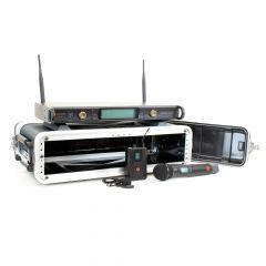 Studiospares 2.4GHz Dual Wireless HH/Lav 2U Case Bundle
