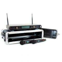 Studiospares 2.4GHz Dual Wireless Dual HH 2U Case Bundle