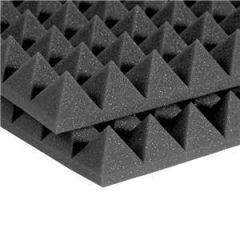Auralex 2 inch Studiofoam Pyramids 2' x 4' Charcoal