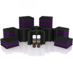 UA Mercury 2 Purple/Charcoal Room Kit