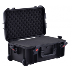 Proel PPCASE12W IP67 Waterproof Wheeled Flight Case with Layered Picky Foam