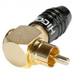 HICON HI-CMA02-NTL Phono Right Angled Black