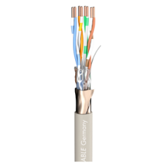 Sommer Mercator AWG24 Cat5 Cable Grey per Metre