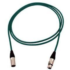 Pro Neutrik XLR Cable 2.5m Green