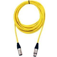 Pro Neutrik XLR Cable 50m Yellow