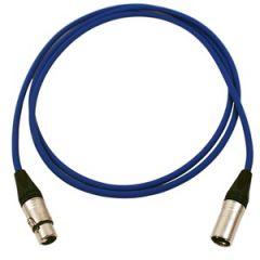 Pro Neutrik XLR Cable 2m Blue