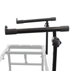 Trojan Pro Attachable Arms for Expandable & Folding Keyboard Two Tier Stand & DJ Bench Frame