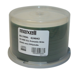 Maxell 50xCD Cakebox Printable