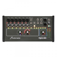 Studiomaster Digilive8C Compact Digital Mixer