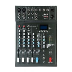 Studiomaster Club XS 6+ 6 Channel Mixer