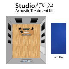 Studiospares StudioATK-24 Acoustic Treatment Kit Navy Blue
