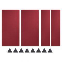 Studiospares StudioATK-12 Acoustic Treatment Kit Burgundy