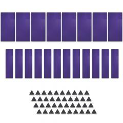 Studiospares StudioATK-60 Acoustic Treatment Kit Purple