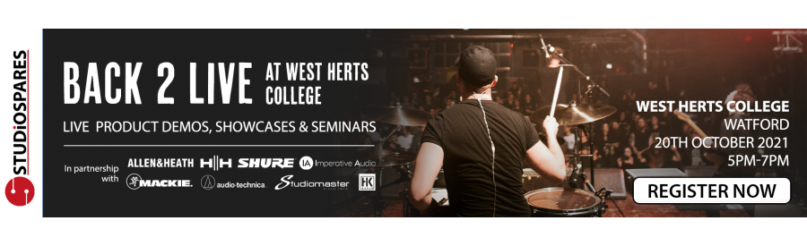 Back 2 Live at West Herts College, Watford