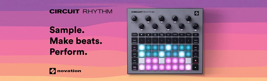 Novation announce the Novation Circuit Rhythm Sampler and Sequencer