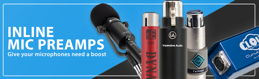 Inline Mic Preamps | Give your microphones a boost