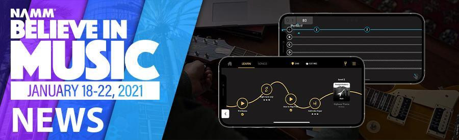 NAMM 2021 - Gibson launches all in one smartphone app for guitarists