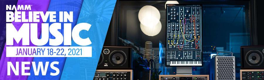 NAMM 2021 - Moog's Model 15 synth app is now available on macOS Big Sur