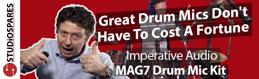Great Drum Mics Don't Have To Cost A Fortune