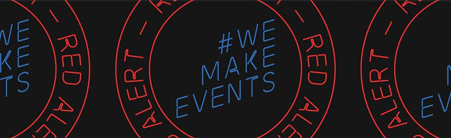 PLASA create #wemakeevents - Red Alert Day of Action