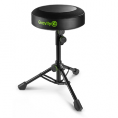Gravity FD SEAT 1 Round Musicians Stool Foldable