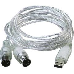 ESI Midimate II USB2.0 MIDI Interface Cable