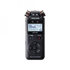 Tascam DR-05X Portable Audio Recorder And USB Audio Interface