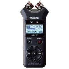 Tascam DR-07X Portable Audio Recorder And USB Audio Interface
