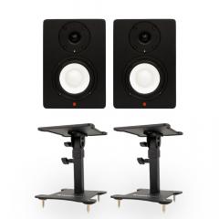 Studiospares SN4A Pair + Desktop Monitor Stands