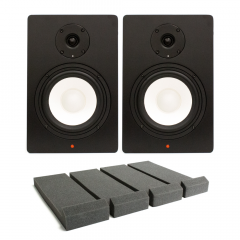 Studiospares SN6A Pair + Monitor Isolation Pads