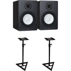 Studiospares SN6A Pair + Monitor Stands