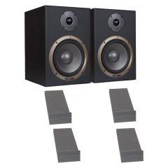 Studiospares Seiwin 8A Active Monitors + Monitor Pads