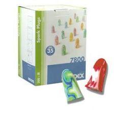 Sparkplugs 200-Pack Coloured Earplugs