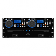 Stageline CD-230USB Dual DJ CD/MP3 Player