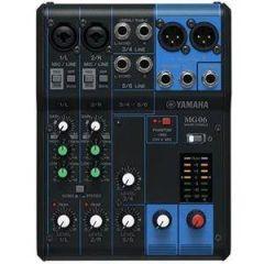 Yamaha MG06 6:2 Mixer