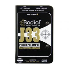 Radial J33 Active Turntable / Phono Preamp
