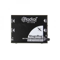 Radial StageBug SB-48 Phantom 2-Channel 48V Phantom Power Supply