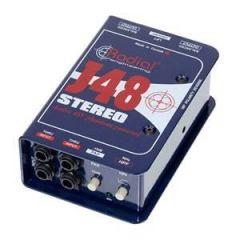 Radial J48 Stereo 2-Channel DI Box